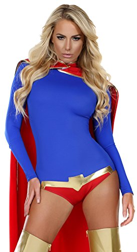 Catsuit Superman Cosplay Costume For Women